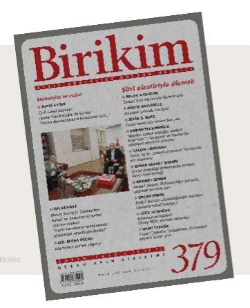Birikim Dergisi 379. Sayı