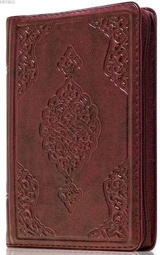 Çanta Boy Kur'an-ı Kerim (Bordo Renk, Kılıflı, Mühürlü)
