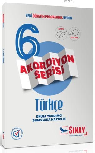Sınav Dergisi Yayınları 6. Sınıf Türkçe Akordiyon Serisi Aç Konu Katla Soru Sınav Dergisi