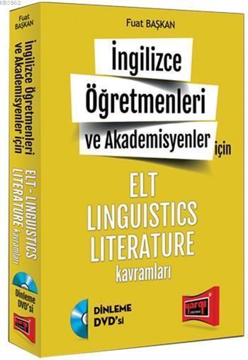 YDS İngilizce Öğretmenleri ve Akademisyenleri İçin 2015; Elt Linguistics Literature Kavramlar