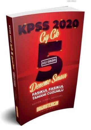 Doğru Tercih 2020 KPSS GY-GK Çözümlü 5 Deneme Sınavı
