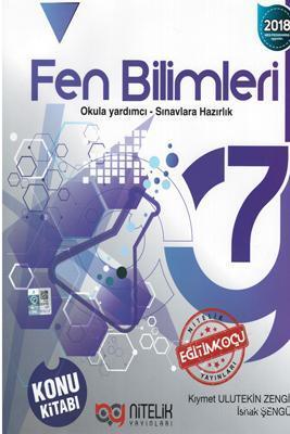 Nitelik Yayınları 7. Sınıf Fen Bilimleri Konu Kitabı Nitelik