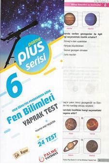 6.Sınıf Plus Serisi Fen Bilimleri Yaprak Test
