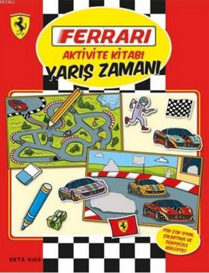 Ferrari Aktivite Kitabı - Yarış Zamanı