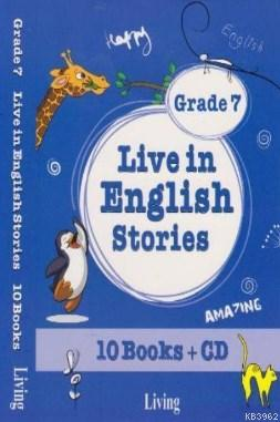 Live in English Stories Grade 7 - 10 Books-CD