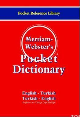 Merriam-Webster's Pocket Dictionary / EnglishTurkish / Turkish-English
