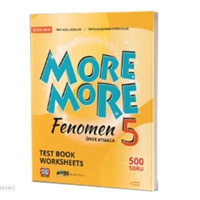 Kurmay Yayınevi 5.Sınıf More & More Englısh Fenomen Test Book