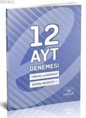 AYT 12 Li Türk Diledeb.Sos.Bil1.Deneme.2020