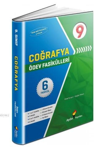 Aydın Yayınları 9. Sınıf Coğrafya Ödev Fasikülleri Aydın