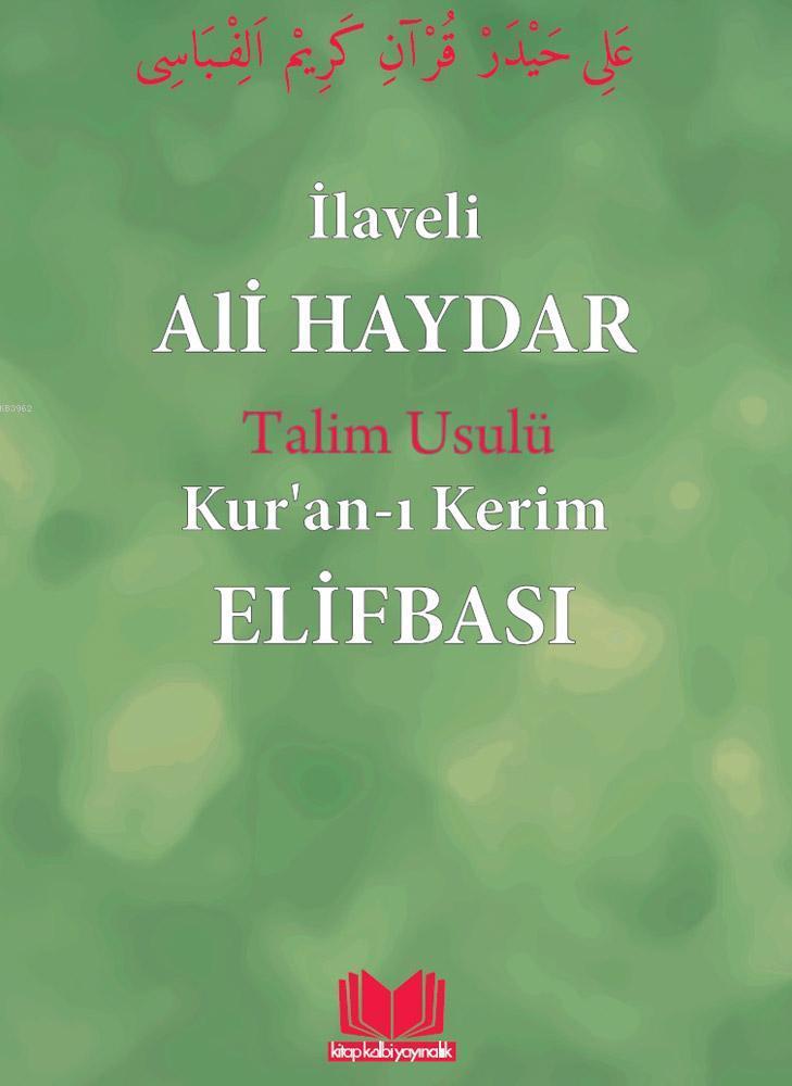 Ali Haydar Elifbası Talim Usulu