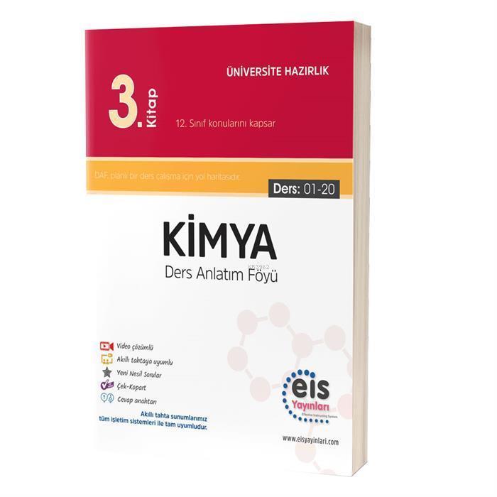 EIS - YKS Ders Anlatım Föyü Kimya 3.Kitap