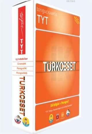 Tonguç Akademi TYT Türkçe Set; Dilbilgisi + Paragraf
