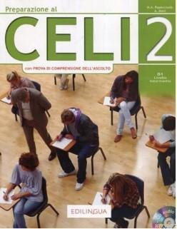 Preparazione Al CELI 2; (İtalyanca sınavına hazırlık) B1
