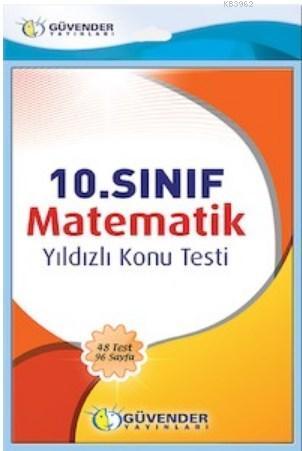 10. Sınıf Matematik Yıldızlı Konu Testi