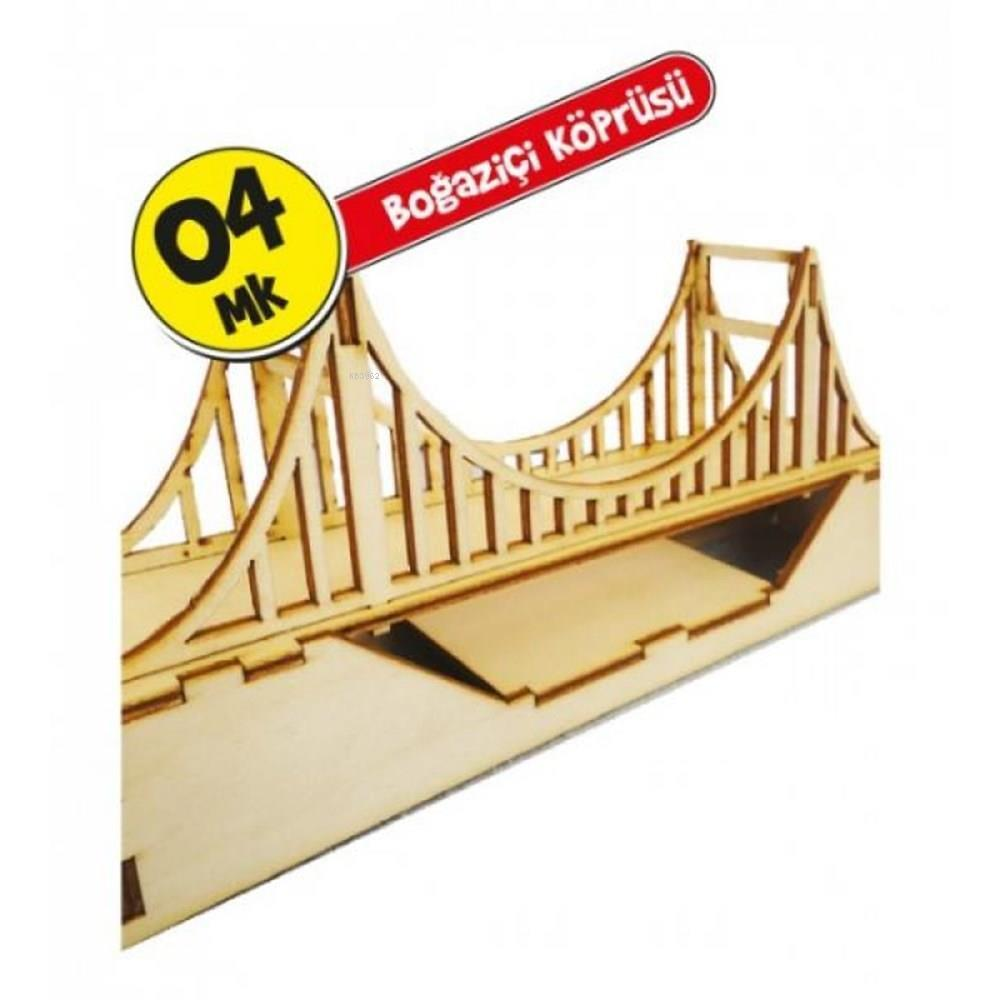 Kum Toys Ahşap Maket Boğaziçi Köprüsü