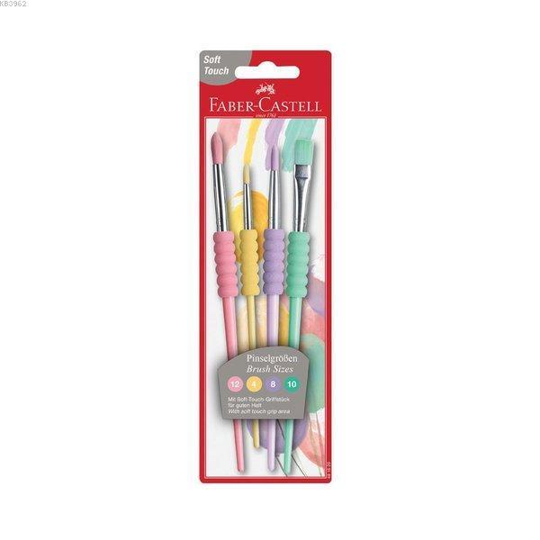 Faber-Castell Soft Touch Fırça Pastel 4 Çşt 20'Li