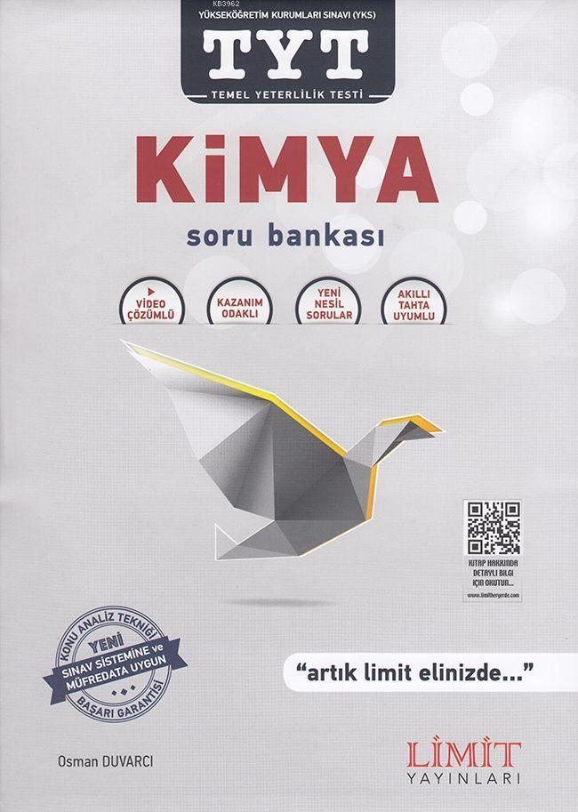 Limit Yayınları TYT Kimya Soru Bankası Limit
