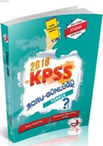 2018 KPSS Soru Günlüğü Türkçe