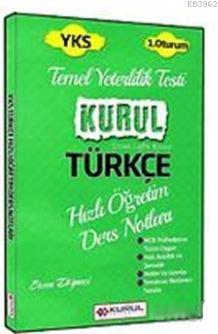 2018 YKS 1.Oturum Türkçe Hızlı Öğretim Ders Notları