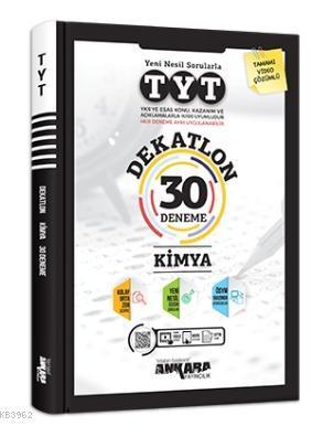 TYT Dekatlon Kimya 30 Deneme