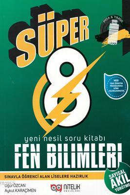 Nitelik Yayınları 8. Sınıf LGS Süper Fen Bilimleri Yeni Nesil Soru Kitabı Nitelik