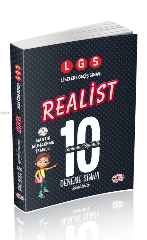 LGS-Realist-Tamami-Cozumlu-10-Deneme- Sinavi-Fasiküllü