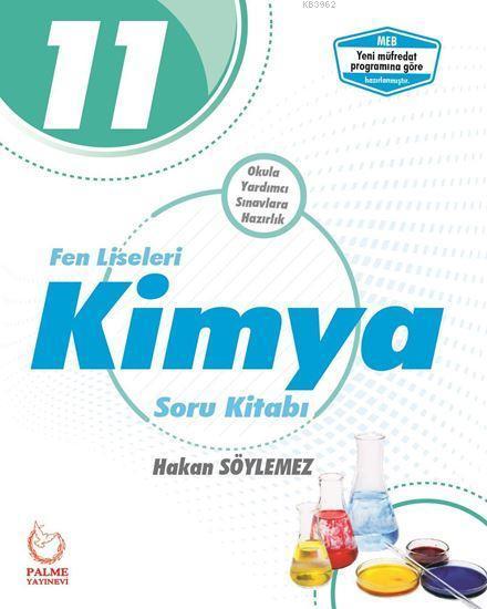11. Sınıf Fen Liseleri Kimya Soru Kitabı