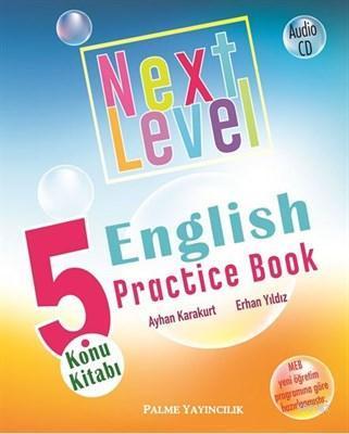 Palme Yayınları 5. Sınıf Next Level English Practice Book Konu Kitabı Palme
