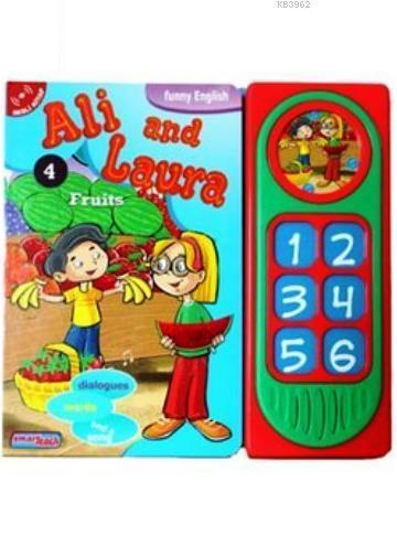Ali and Laura 4 - Fruits; Konuşan Sesli Kitaplar