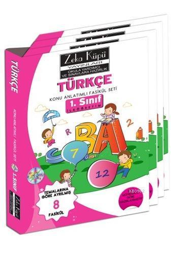 1. Sınıf Türkçe Konu Anlatımlı Soru Bankası; Temalarına Göre Ayrılmış 8 Fasikül