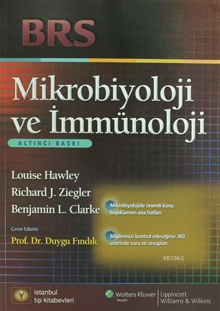 Mikrobiyoloji ve İmmünoloji; BRS