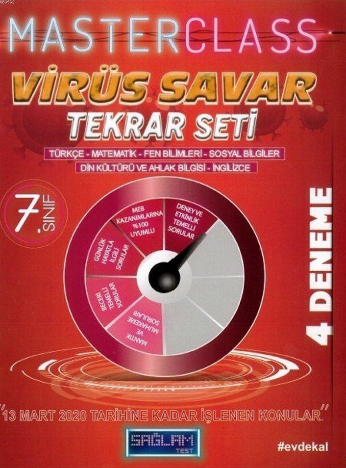 Molekül Yayınları 7. Sınıf Virüs Savar Masterclass Tekrar Seti Molekül