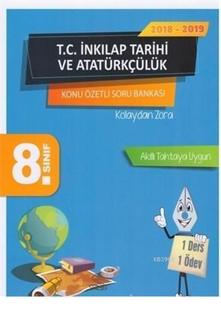 8. Sınıf T.C. İnkılap Tarihi ve Atatürkçülük Konu Özetli Soru Bankası Seti Sonuç Yayınları