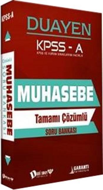 KPSS A Grubu Muhasebe Duayen Soru Bankası; Tamamı Çözümlü