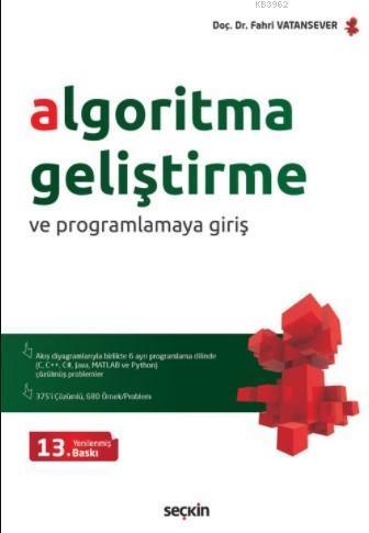 Algoritma Geliştirme ve Programlamaya Giriş