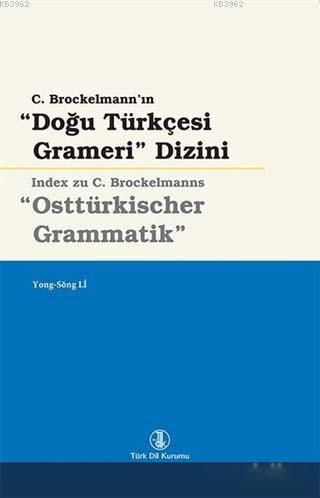 Doğu Türkçesi Grameri Dizini