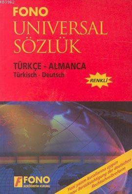 Türkçe-Almanca Universal Sözlük