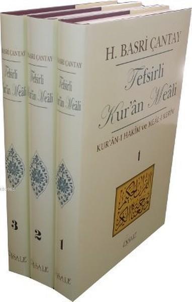 Tefsirli Kur'an Meali (3 Cilt Takım); Kur'an-ı Hakim ve Meal-i Kerim