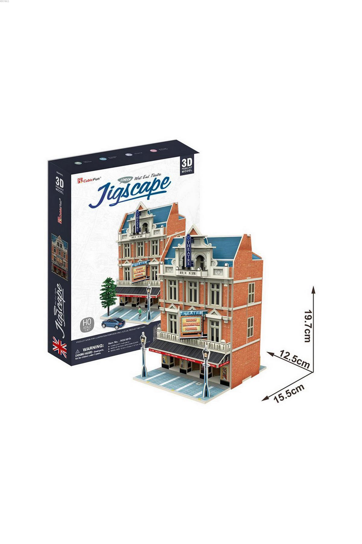 NecoToys HO4101h London JigScape 3D Puzzle