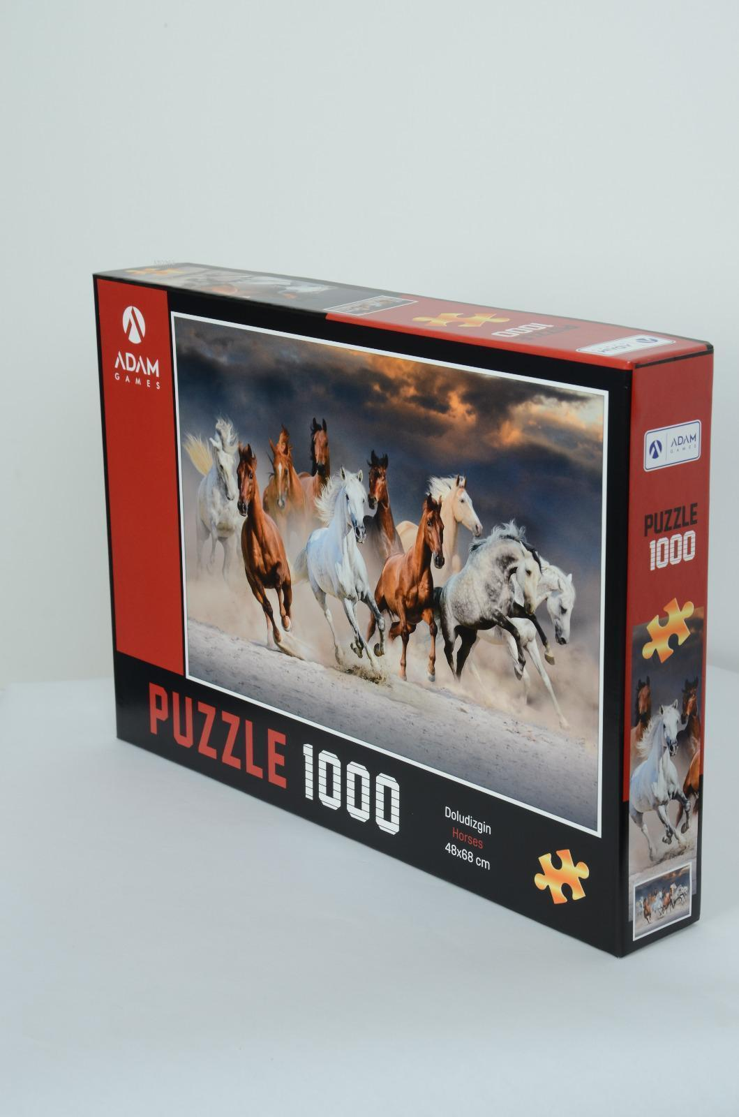 Adam Games Doludizgin 1000 Parça Puzzle 48x68