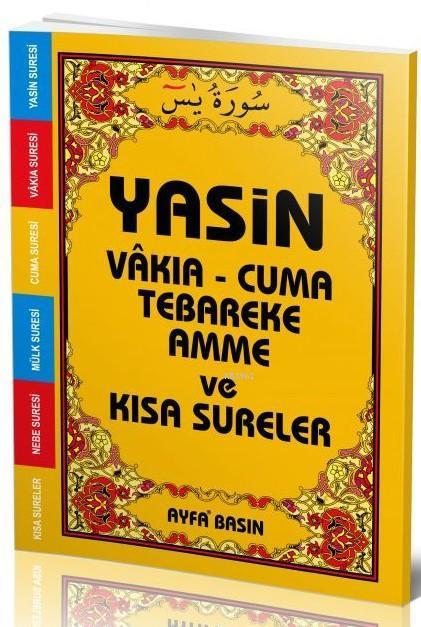 Yasin (Ayfa-007, Çanta Boy, Arapça)