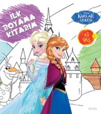 Disney Karlar Ükesi; İlk Boyama Kitabım