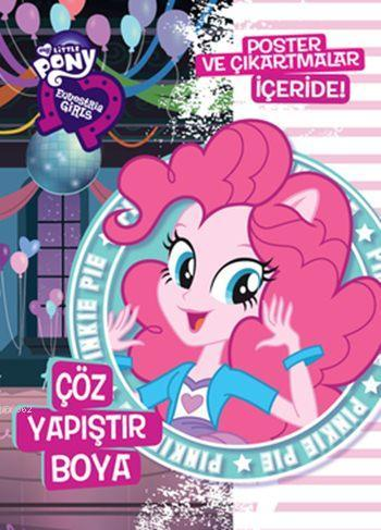 Pinkie Pie Çöz Yapıştır Boya; My Little Pony Equestria Girls