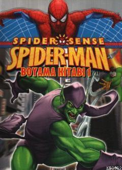 Spider Man Boyama Kitabı 1 (Özel Kesimli)