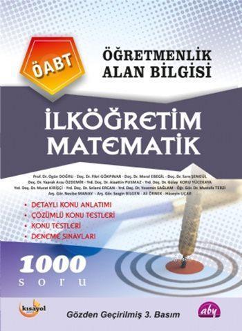 Öğretmenlik Alan Bilgisi İlköğretim Matematik