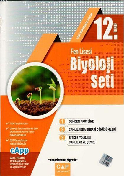 Çap Yayınları 12. Sınıf Fen Lisesi Biyoloji Seti Çap