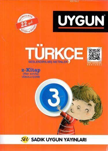 Sadık Uygun Yayınları 3. Sınıf Türkçe Sadık Uygun