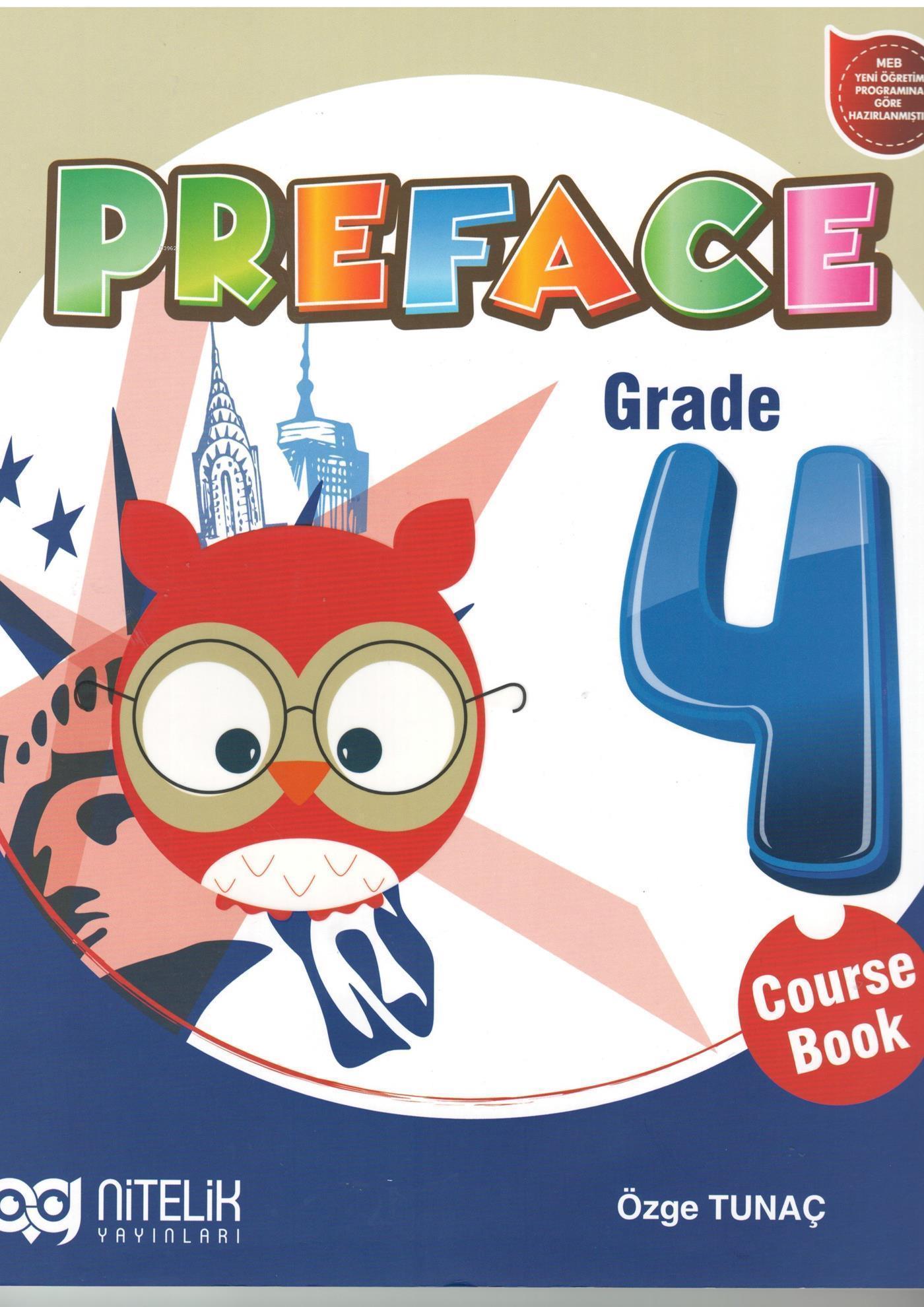Nitelik Yayınları 4. Sınıf İngilizce Preface Course Book Nitelik