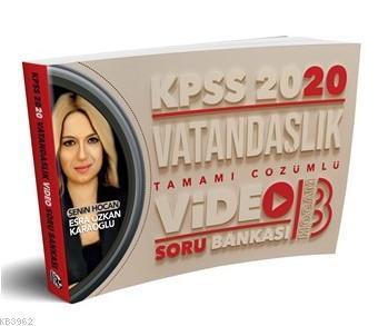 2020 KPSS Vatandaşlık Tamamı Çözümlü Video Soru Bankası Benim Hocam Yayınları