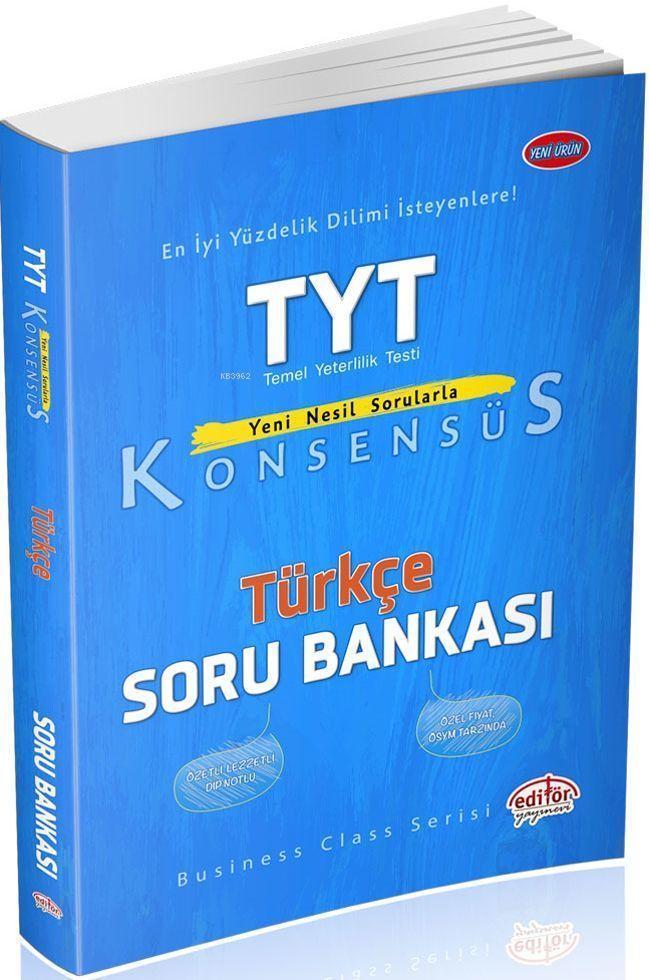 TYT Konsensüs Türkçe Soru Bankası; TYT Konsensüs Türkçe Soru Bankası